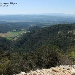 Sortie sur Vitrolles en Luberon depuis Piegros 2