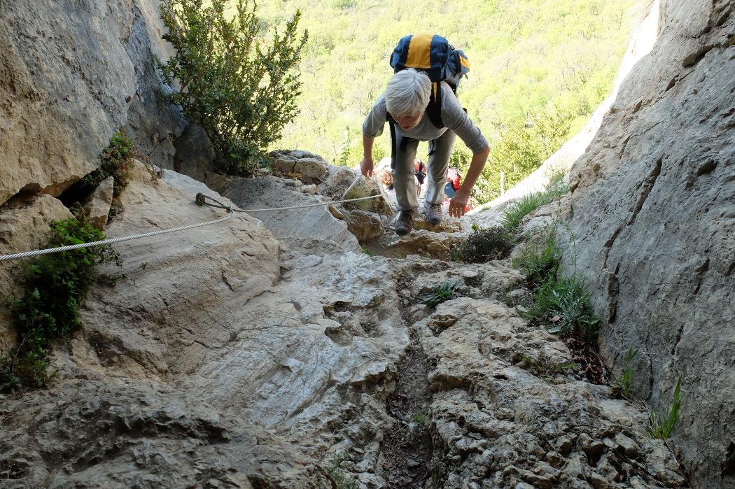 Le trou d'argent Sisteron  3 Mai 2016  l'entrée au trou d-argent