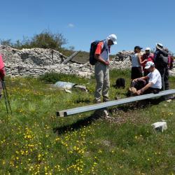 Le jas des agneaux  au Contadour  4 Mai 2016 Pique-nique au ruines du Jas des agneaux