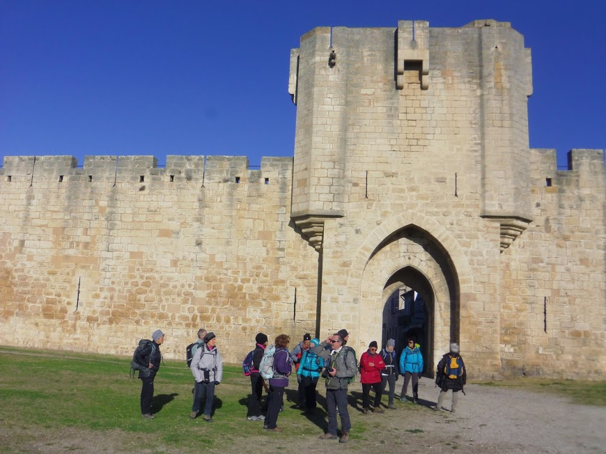 Aigues Mortes 12. Rempart sud Tour