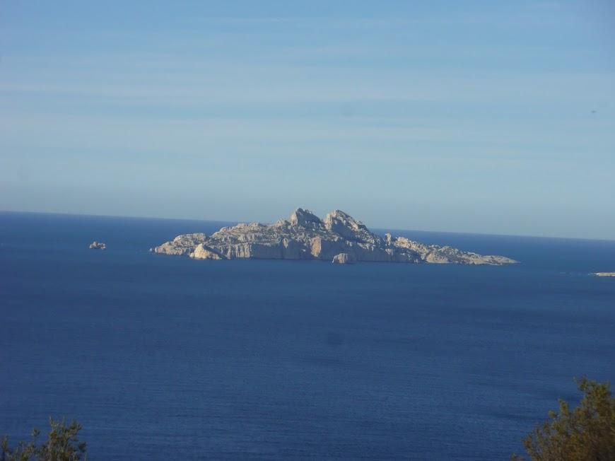 Calanques L'ile de Riou