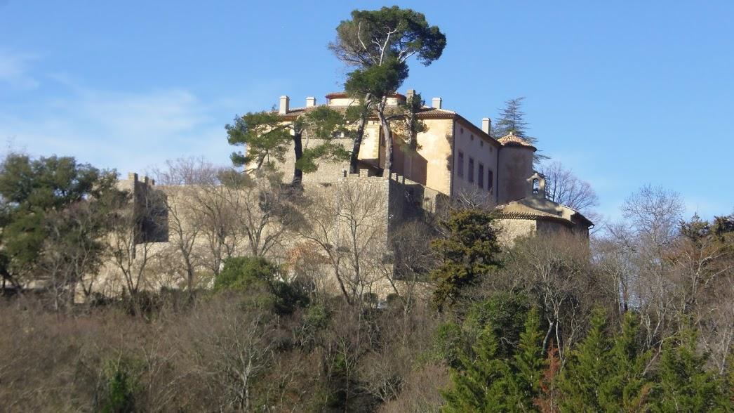 Sortie du  13 mars 2:Chateau Picasso à Vauvenargues