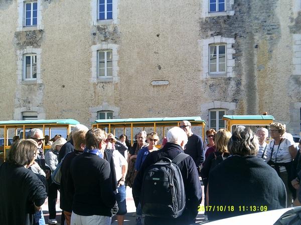 Corte 4 préparation pour la visite de la vieille ville