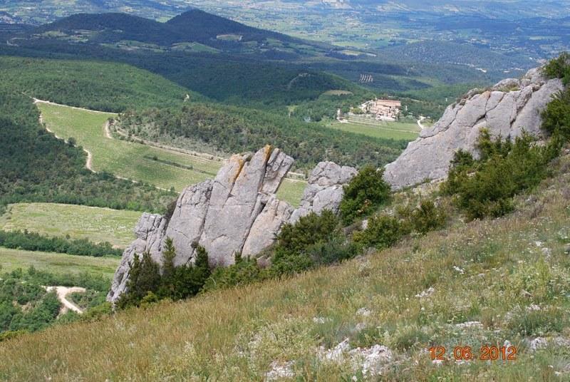 Monastère de Prebayon-Crête de St Amand, Gigondas