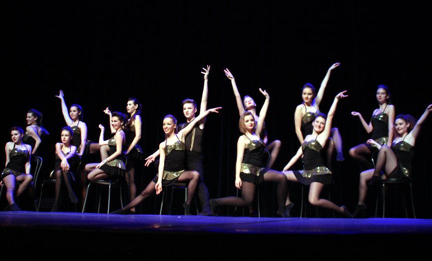Les danseurs de l'école de Danse de Valérie Imbert