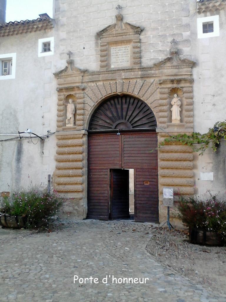 La porte d'honneur