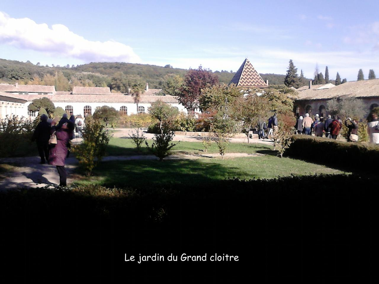 Le jardin du grand cloître