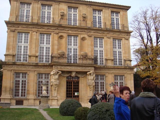 Le pavillon Vendome la façade