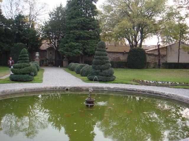 Le bassin du pavillon Vendome