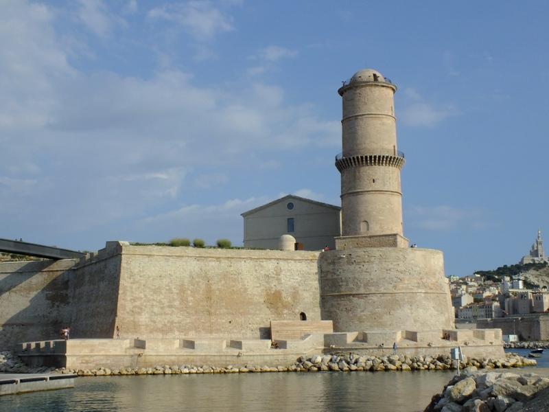 La tour du Fanal du Fort St Jean
