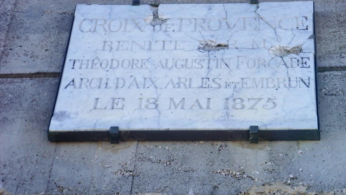 Sortie du 13 Mars 14 La plaque à la croix