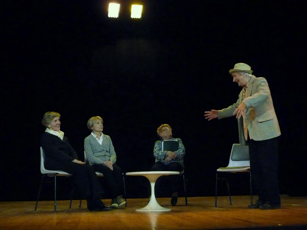 Le pt Théâtre fait son casting: Heureux