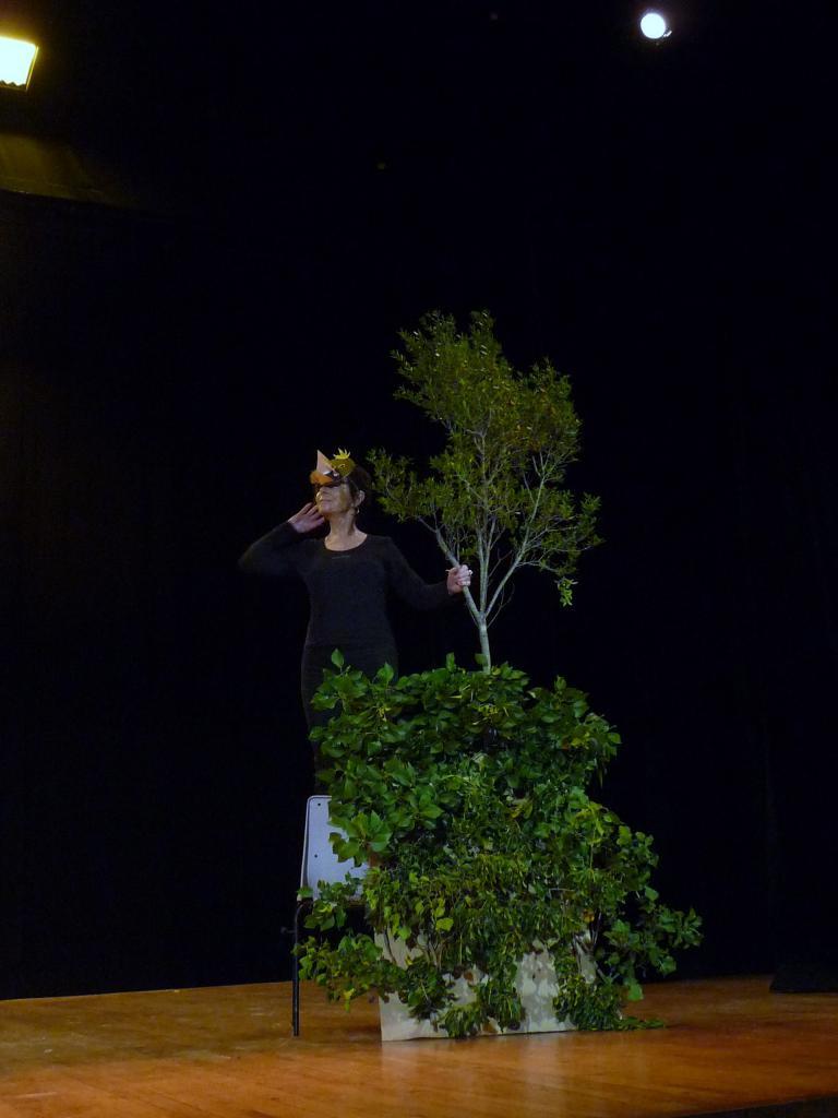 Le pt Théâtre fait son casting: Le corbeau et le Lapin
