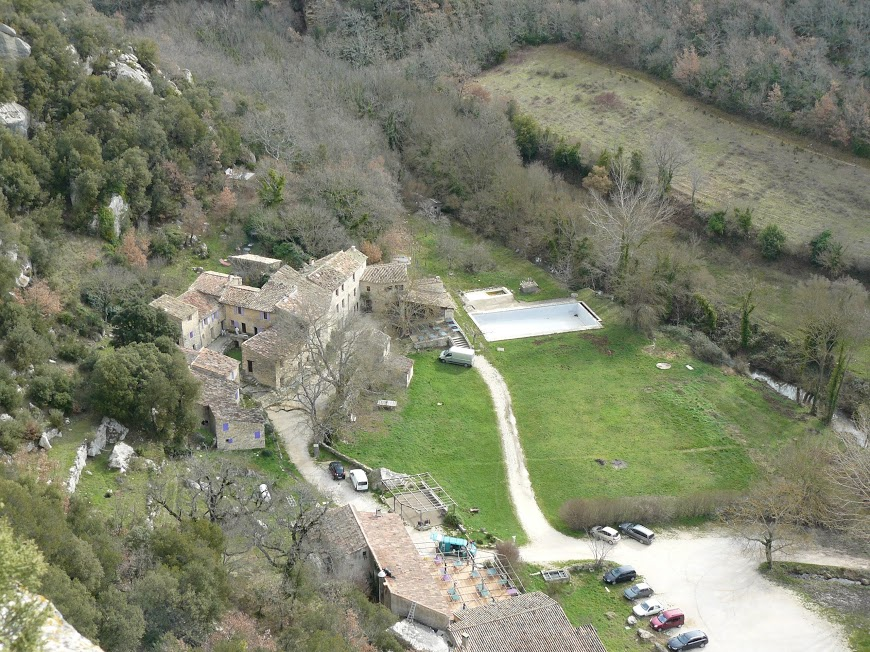 Luberon: Pas du Renard-Sivergues-Fort de Buoux  6