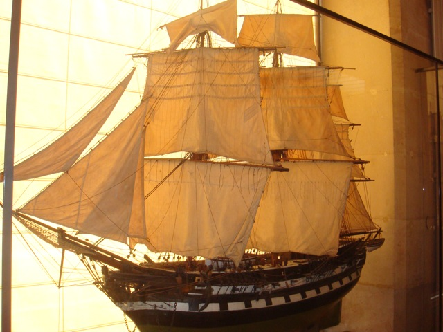 Maquette du musée de la CC