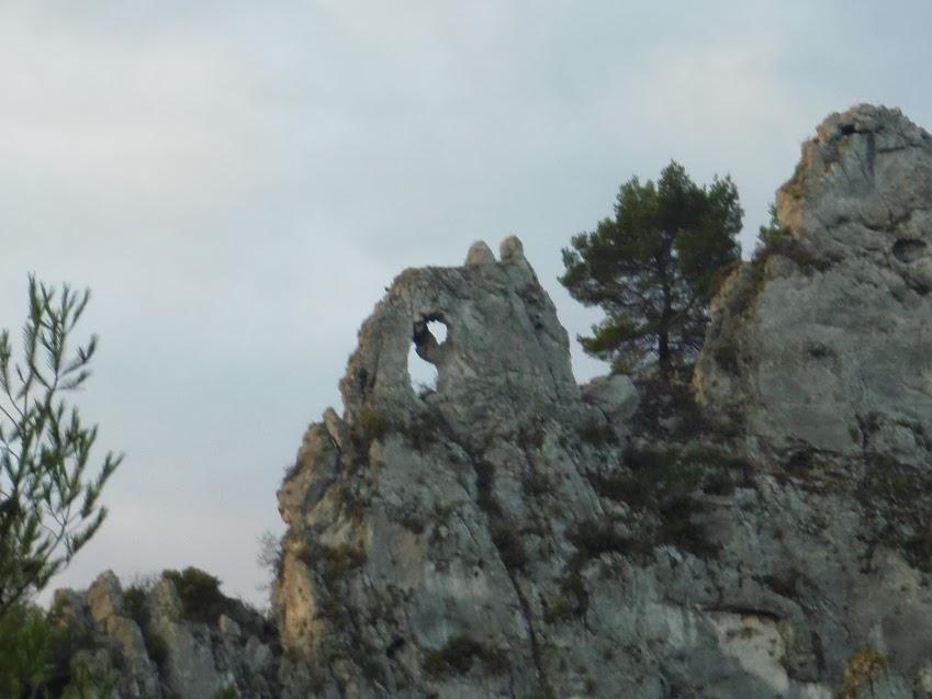 La Roquette-Tête de Buisses- Trou de rat ( Sortie du 12 Dec: 16km  dénivelé 700m)