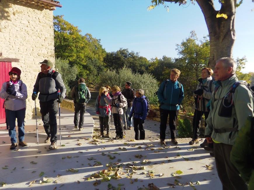 Luberon: Saint Pantaleon ( Sortie du 21 Nov) distance 13,5 km- dénivelé 350 m