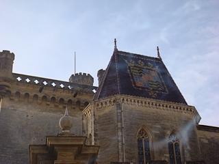 Le chateau ducal propriété privée du 17ème duc d'UZES