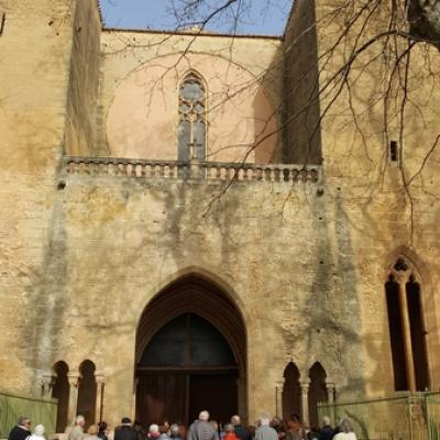 L' abbaye de Valmagne et Cave viticole  NOILLY PRAT février 2017