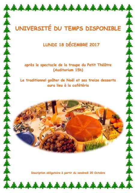 Affiche 13 desserts 1
