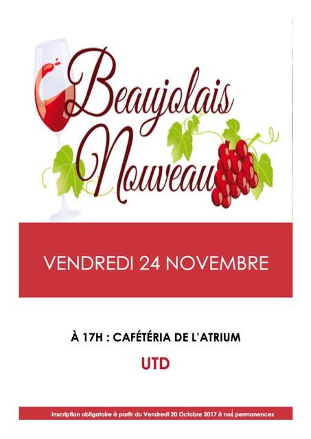 Affiche beaujolais 2