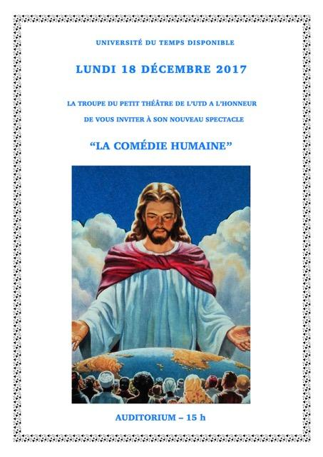 Affiche comedie humaine 2