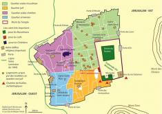 Carte 1 jerusalem