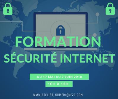 Formations utd securite informatique