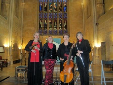 Quatuor baroque pour 40 ans utd