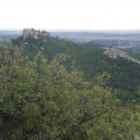 Les Alpilles  Vue sur le Mont Paon 10