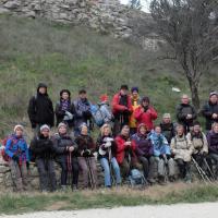 2015-1-27 3 Le groupe à La montagnette Boulbon