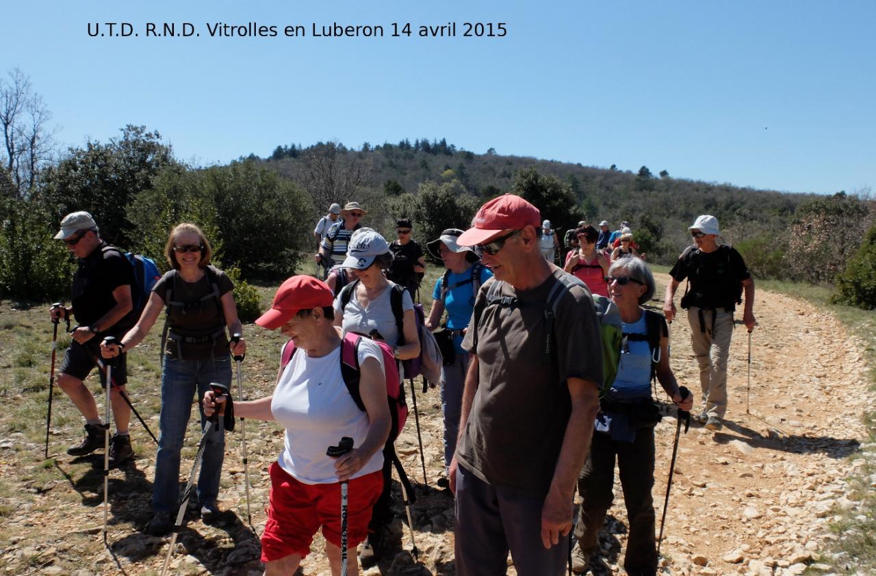 Sortie sur  Vitrolles en Luberon 1