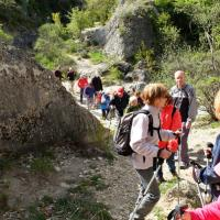 Oppedette-Boulinette  4 Avril 2016  La Montée à Valsaintes