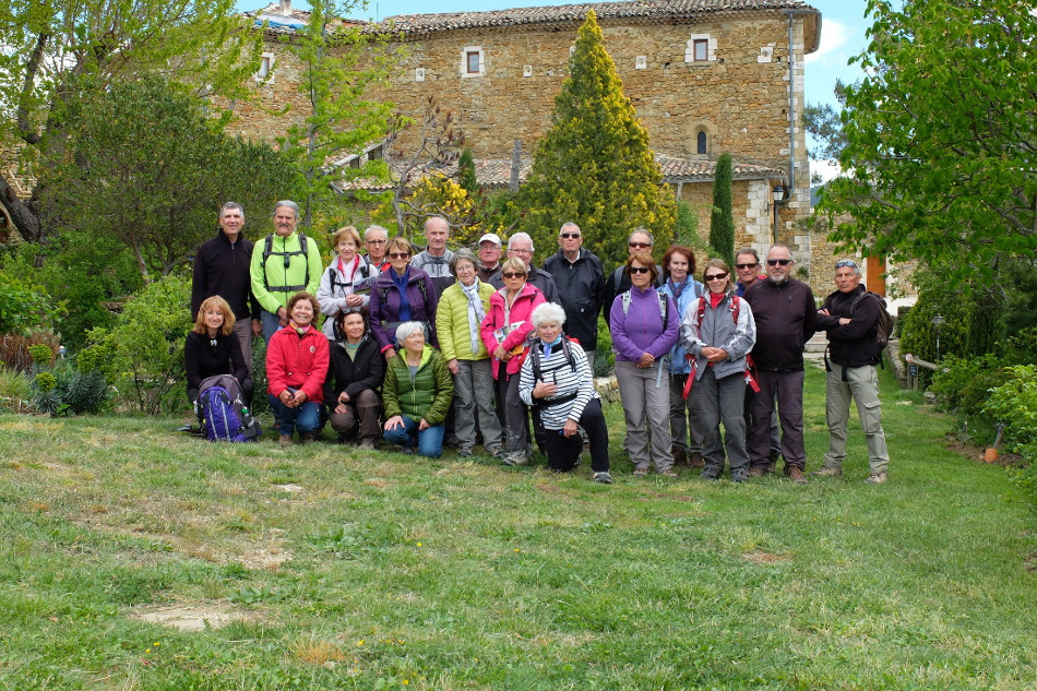 Oppedette-Boulinette  4 Avril 2016  Photo de groupe