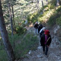 Le trou d'argent Sisteron  3 Mai 2016  La montée au trou d-Argent