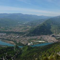 Le trou d'argent Sisteron  3 Mai 2016 La vue sur Sisteron