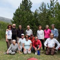 Le trou d'argent Sisteron  3 Mai 2016 Photo de groupe
