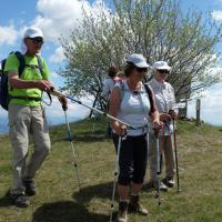 La crête de Vaumusse 17 mai 2016   Au sommet de la crête de Vaumusse