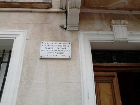 Aubagne Plaque au 16  bd Barthélémy