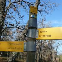 Le luberon -Cedres 1 (sortie du  20 mars 12,5 km déniv 700m)
