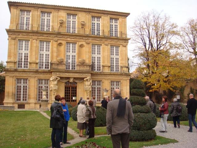 Le pavillon Vendome l'admiration de la façade?