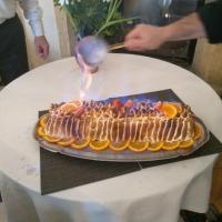 ...Et pour finir, une superbe omelette norvégienne...