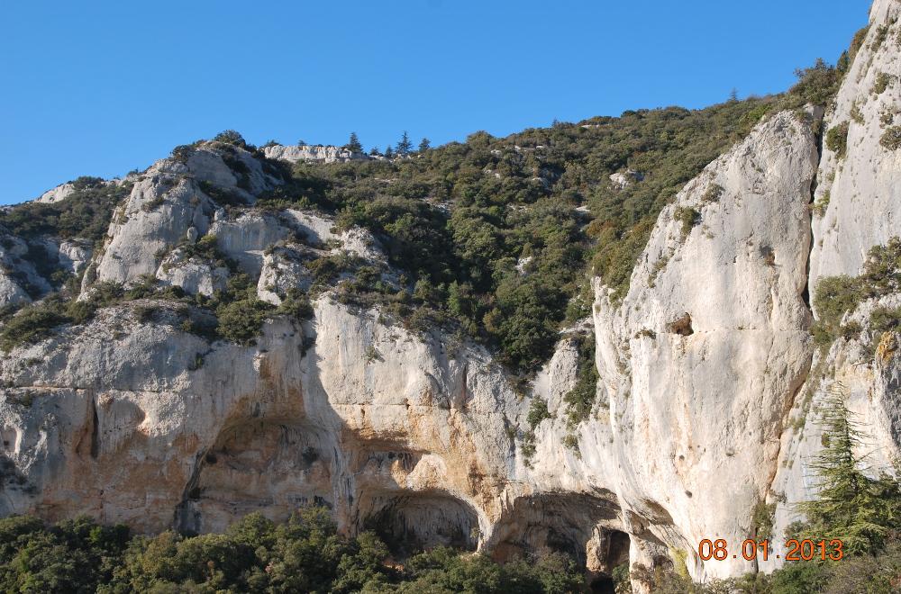 La Roque des Bancs 8 janv  13