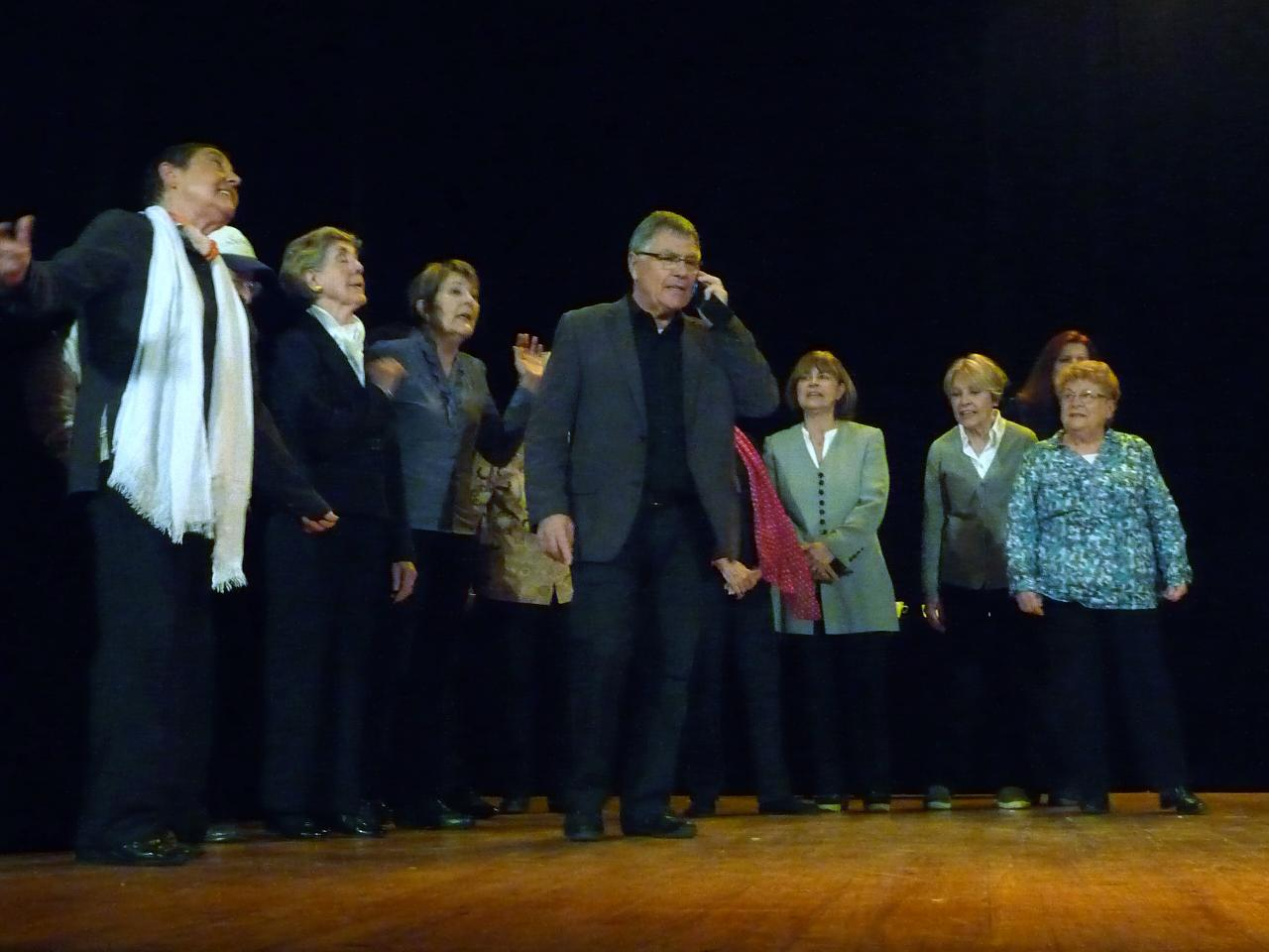 (RLe pt Théâtre fait son casting: Tout va très bien Mme la Marquise