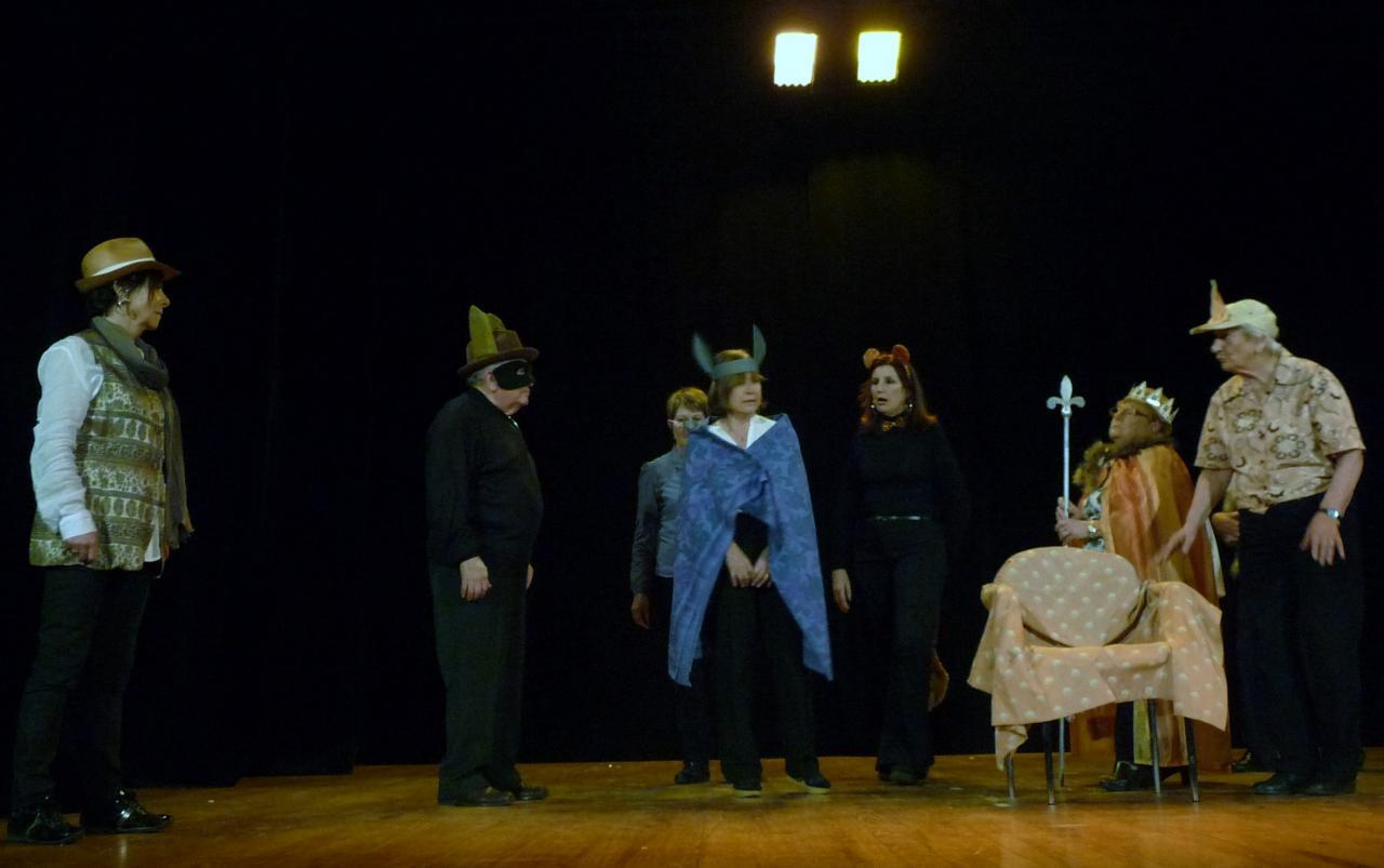 Le pt Théâtre fait son casting:Les animaux malades de la peste