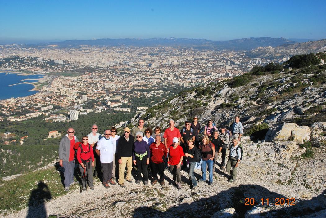 Marseilleveyre Le sommet