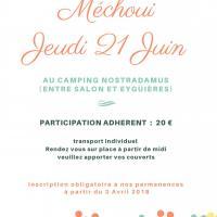 L'affiche Mechoui UTD 2018 crée par Evelyne