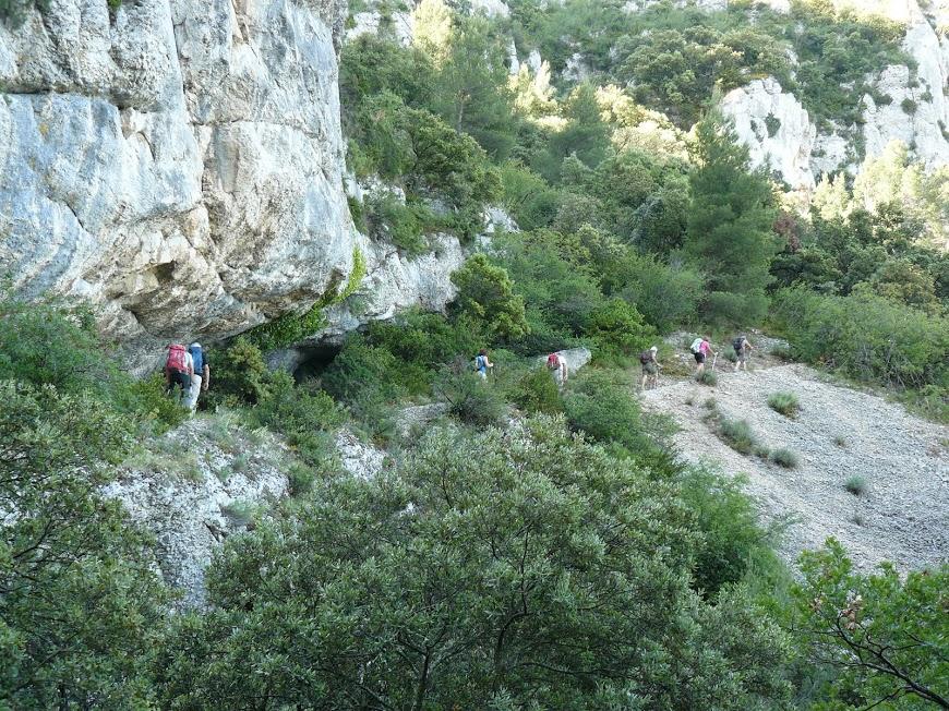Luberon-Robion-Sommet du Castellas -Maubec 14