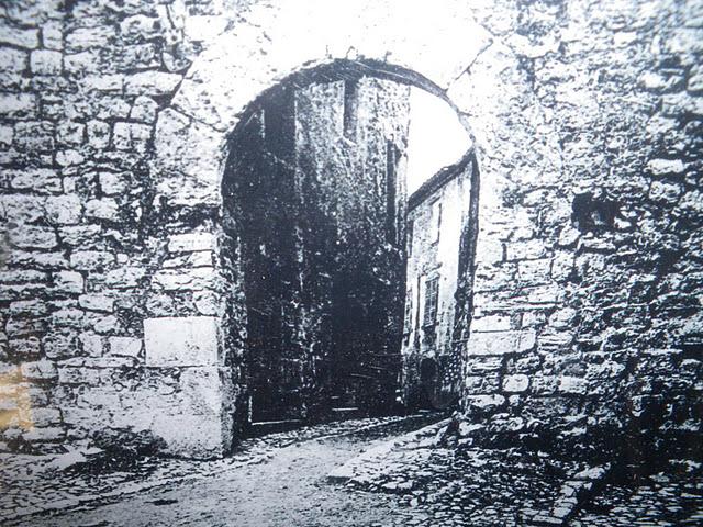 Porte Sarrasine ancien