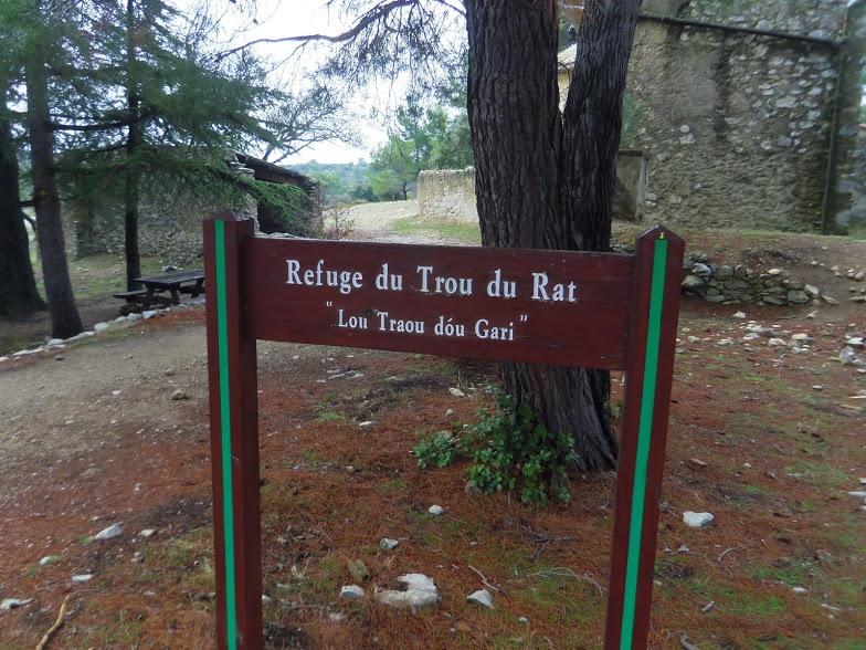 La Roquette-Tête de Buisses- Le Trou du Rat